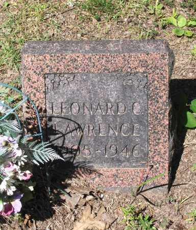 LAWRENCE, LEONARD CLARENCE - Lawrence County, Arkansas | LEONARD CLARENCE LAWRENCE - Arkansas Gravestone Photos