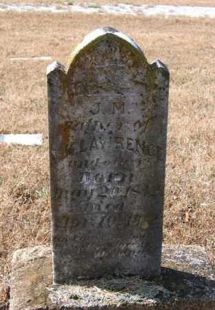 "LAWRENCE (VETERAN CSA), JOSEPH MELVIN ""J. M."" - Lawrence County, Arkansas | JOSEPH MELVIN ""J. M."" LAWRENCE (VETERAN CSA) - Arkansas Gravestone Photos"
