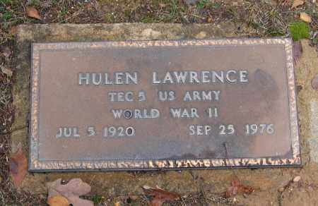 LAWRENCE (VETERAN WWII), HULEN - Lawrence County, Arkansas | HULEN LAWRENCE (VETERAN WWII) - Arkansas Gravestone Photos