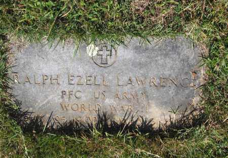 LAWRENCE (VETERAN WWII), RALPH EZELL - Lawrence County, Arkansas | RALPH EZELL LAWRENCE (VETERAN WWII) - Arkansas Gravestone Photos