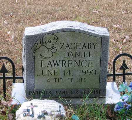 LAWRENCE, ZACHARY DANIEL - Lawrence County, Arkansas | ZACHARY DANIEL LAWRENCE - Arkansas Gravestone Photos