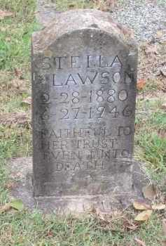 "BROWN LAWSON, ESTELLA ""STELLA"" - Lawrence County, Arkansas 