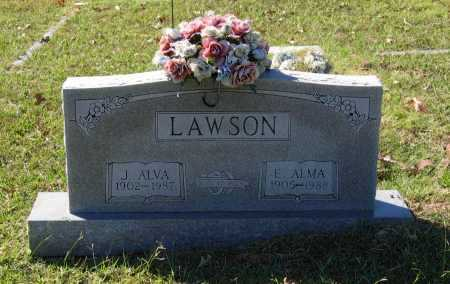 HELMS LAWSON, ESSIE ALMA - Lawrence County, Arkansas | ESSIE ALMA HELMS LAWSON - Arkansas Gravestone Photos
