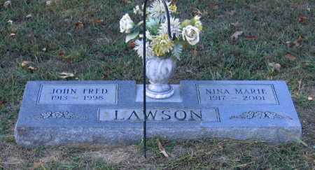 "LAWSON, JOHN FREDERICK ""FRED"" - Lawrence County, Arkansas 