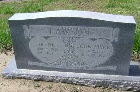 LAWSON, IRENE ARLENE - Lawrence County, Arkansas | IRENE ARLENE LAWSON - Arkansas Gravestone Photos