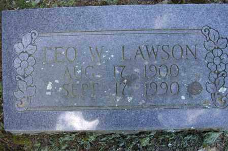 """LAWSON, LEO WILLIE """"WILL"""" - Lawrence County, Arkansas 