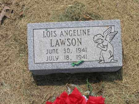 LAWSON, LOIS ANGELINE - Lawrence County, Arkansas | LOIS ANGELINE LAWSON - Arkansas Gravestone Photos