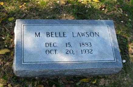 "LAWSON, MARY BELLE ""MOLLIE"" - Lawrence County, Arkansas 
