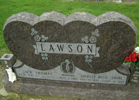 "LAWSON, SHIRLEY RUTH ""SHIRL"" - Lawrence County, Arkansas 