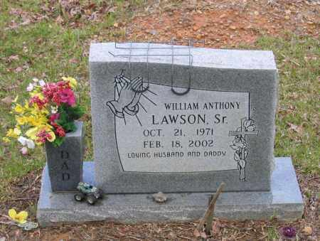 LAWSON, SR., WILLIAM ANTHONY - Lawrence County, Arkansas | WILLIAM ANTHONY LAWSON, SR. - Arkansas Gravestone Photos
