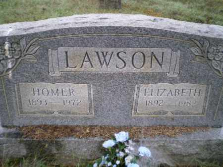 NUNNALLY LAWSON, FRANCES ELIZABETH - Lawrence County, Arkansas | FRANCES ELIZABETH NUNNALLY LAWSON - Arkansas Gravestone Photos
