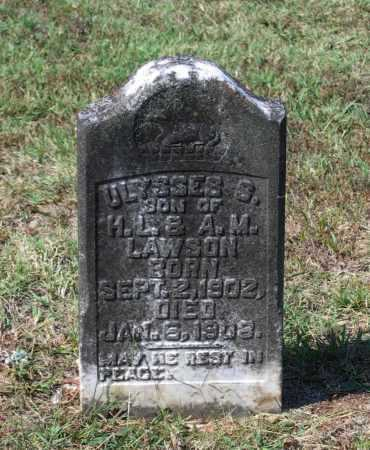 LAWSON, ULYSSES - Lawrence County, Arkansas | ULYSSES LAWSON - Arkansas Gravestone Photos