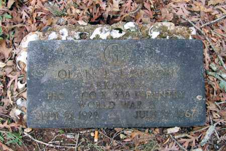 LAWSON (VETERAN WWII), OLAN EARNEST - Lawrence County, Arkansas | OLAN EARNEST LAWSON (VETERAN WWII) - Arkansas Gravestone Photos
