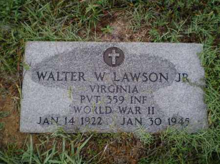 LAWSON, JR. (VETERAN WWII), WALTER WILLIAM - Lawrence County, Arkansas | WALTER WILLIAM LAWSON, JR. (VETERAN WWII) - Arkansas Gravestone Photos