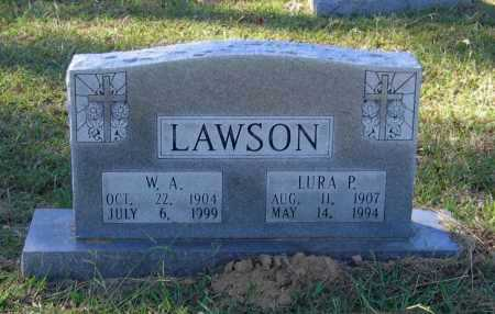 HELMS LAWSON, LURA PAULINE - Lawrence County, Arkansas | LURA PAULINE HELMS LAWSON - Arkansas Gravestone Photos