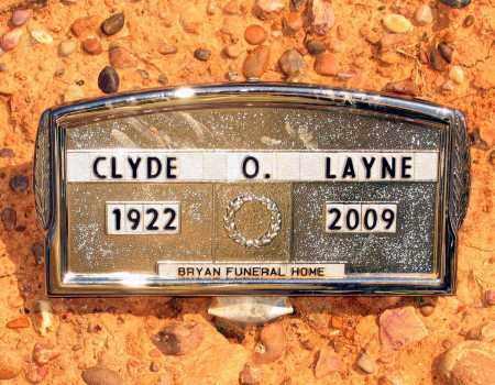 LAYNE, CLYDE OLIN - Lawrence County, Arkansas | CLYDE OLIN LAYNE - Arkansas Gravestone Photos