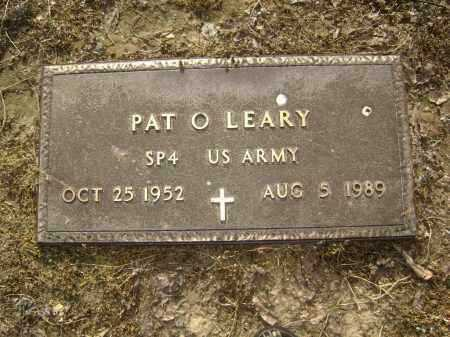 O'LEARY (VETERAN), PAT - Lawrence County, Arkansas | PAT O'LEARY (VETERAN) - Arkansas Gravestone Photos