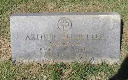LEDBETTER (VETERAN WWI), ARTHUR - Lawrence County, Arkansas | ARTHUR LEDBETTER (VETERAN WWI) - Arkansas Gravestone Photos