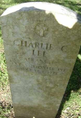 LEE (VETERAN), CHARLIE C. - Lawrence County, Arkansas | CHARLIE C. LEE (VETERAN) - Arkansas Gravestone Photos