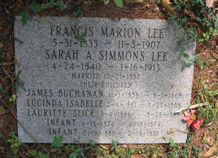 LEE FAMILY STONE,  - Lawrence County, Arkansas |  LEE FAMILY STONE - Arkansas Gravestone Photos
