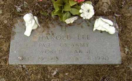 LEE (VETERAN WWII), HAROLD - Lawrence County, Arkansas | HAROLD LEE (VETERAN WWII) - Arkansas Gravestone Photos