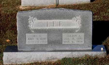 LEE, ORA ANN - Lawrence County, Arkansas | ORA ANN LEE - Arkansas Gravestone Photos
