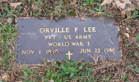 LEE (VETERAN WWI), ORVILLE FRANKLIN - Lawrence County, Arkansas | ORVILLE FRANKLIN LEE (VETERAN WWI) - Arkansas Gravestone Photos
