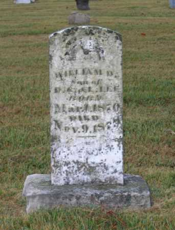 LEE, WILLIAM D. - Lawrence County, Arkansas | WILLIAM D. LEE - Arkansas Gravestone Photos