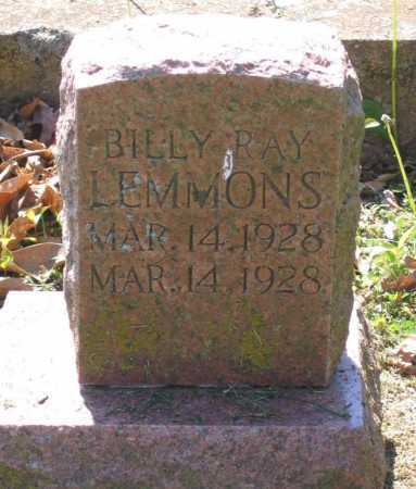 LEMMONS, BILLY RAY - Lawrence County, Arkansas | BILLY RAY LEMMONS - Arkansas Gravestone Photos