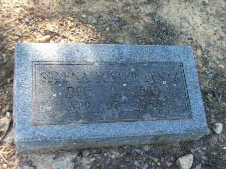 LENTZ, MARY SELENA - Lawrence County, Arkansas | MARY SELENA LENTZ - Arkansas Gravestone Photos