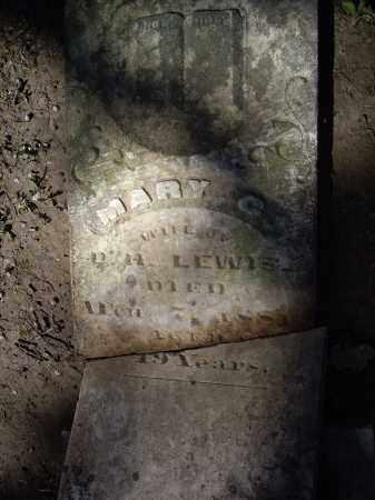 LEWIS, MARY C. - Lawrence County, Arkansas   MARY C. LEWIS - Arkansas Gravestone Photos