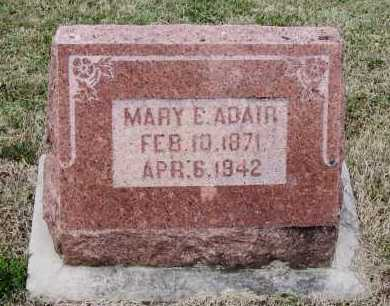 ADAIR, MARY E DENTIS LEWIS - Lawrence County, Arkansas | MARY E DENTIS LEWIS ADAIR - Arkansas Gravestone Photos