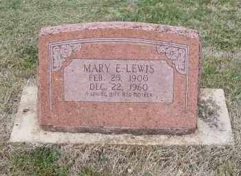 GLENN LEWIS, MARY E. - Lawrence County, Arkansas | MARY E. GLENN LEWIS - Arkansas Gravestone Photos