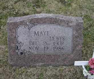 HOOTEN LEWIS, UNA MAYE - Lawrence County, Arkansas | UNA MAYE HOOTEN LEWIS - Arkansas Gravestone Photos