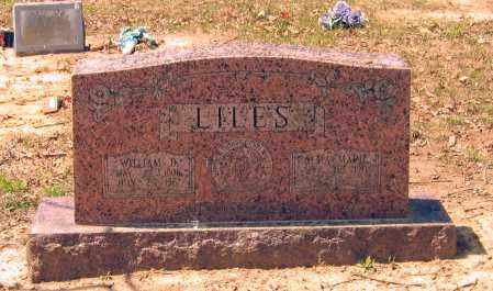 LILES, WILLIAM D. - Lawrence County, Arkansas | WILLIAM D. LILES - Arkansas Gravestone Photos
