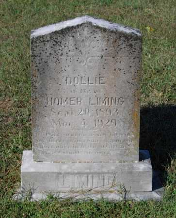 """LIMING, DOROTHY """"DOLLIE"""" - Lawrence County, Arkansas 