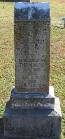 LIMING, THOMAS N. - Lawrence County, Arkansas | THOMAS N. LIMING - Arkansas Gravestone Photos