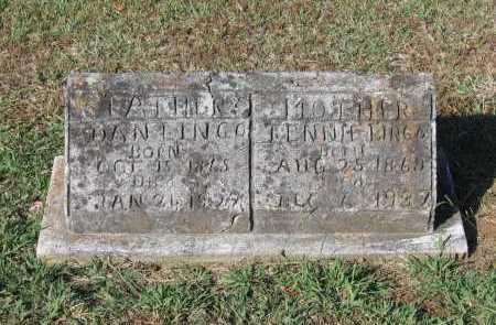 "ADAMS LINGO, TENNESSEE ""TENNIE"" BELLE - Lawrence County, Arkansas 
