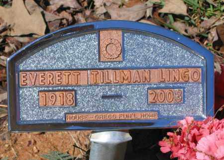 LINGO, EVERETT TILLMAN - Lawrence County, Arkansas | EVERETT TILLMAN LINGO - Arkansas Gravestone Photos