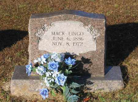 LINGO, MACK - Lawrence County, Arkansas | MACK LINGO - Arkansas Gravestone Photos