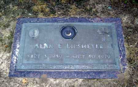 LIPSMEYER, ALAN E. - Lawrence County, Arkansas | ALAN E. LIPSMEYER - Arkansas Gravestone Photos