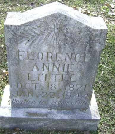 "LITTLE, FLORENCE FRANCES ANNA ""FLORENCE ANNIE"" - Lawrence County, Arkansas 