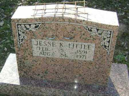 LITTLE, JESSE N. KNOX - Lawrence County, Arkansas | JESSE N. KNOX LITTLE - Arkansas Gravestone Photos