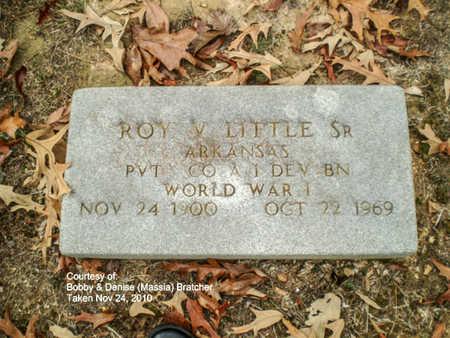 LITTLE, SR. (VETERAN WWI), ROY VANBUREN - Lawrence County, Arkansas | ROY VANBUREN LITTLE, SR. (VETERAN WWI) - Arkansas Gravestone Photos