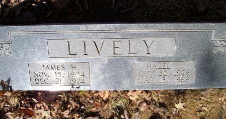 LIVELY, HAZEL MAY - Lawrence County, Arkansas | HAZEL MAY LIVELY - Arkansas Gravestone Photos