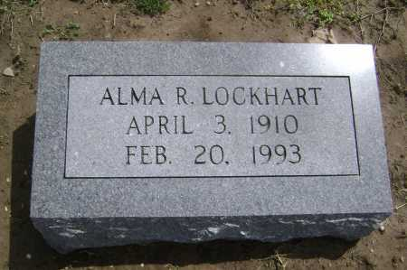 LOCKHART, ALMA R. - Lawrence County, Arkansas | ALMA R. LOCKHART - Arkansas Gravestone Photos