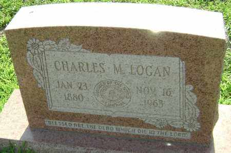 LOGAN, CHARLES M. - Lawrence County, Arkansas | CHARLES M. LOGAN - Arkansas Gravestone Photos