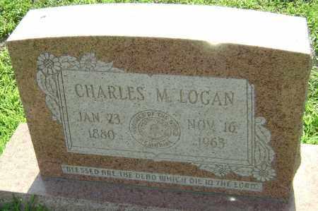LOGAN, CHARLES M. - Lawrence County, Arkansas | CHARLES M. LOGAN - Arkansas Gravestone Photos