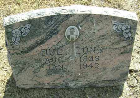 LONG, DUEY - Lawrence County, Arkansas | DUEY LONG - Arkansas Gravestone Photos