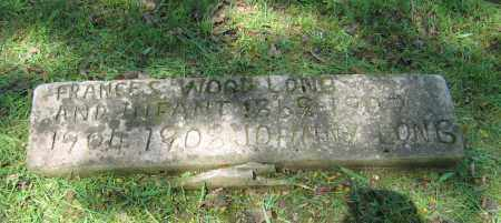 LONG, FRANCES - Lawrence County, Arkansas | FRANCES LONG - Arkansas Gravestone Photos